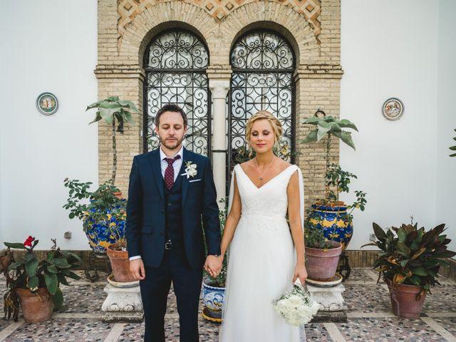 La boda de Jacobo y Fleur en Sanlucar La Mayor, Sevilla 67