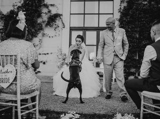 La boda de Rochelle y Adam