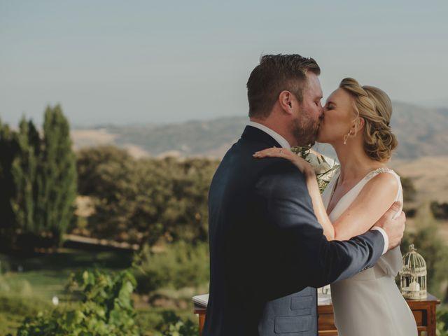 La boda de Mike y Janine en La Joya Nogales, Málaga 23