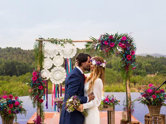 La boda de Álvaro y Geno  en Castellnovo, Castellón 1