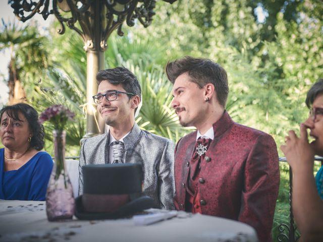 La boda de David y Manuel en Galapagar, Madrid 27