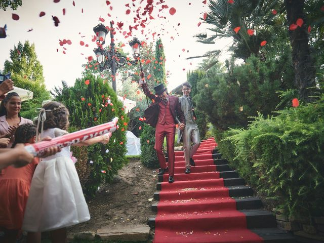 La boda de David y Manuel en Galapagar, Madrid 30