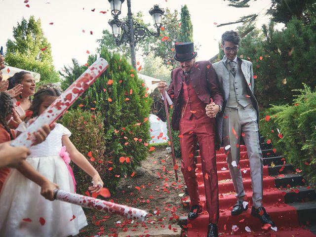 La boda de David y Manuel en Galapagar, Madrid 31
