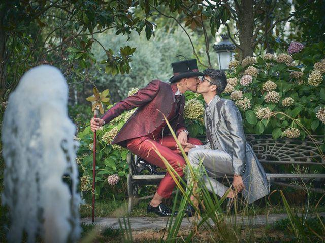La boda de David y Manuel en Galapagar, Madrid 33