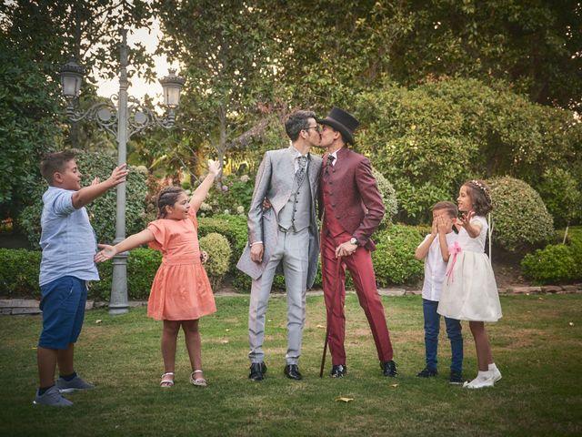 La boda de David y Manuel en Galapagar, Madrid 37