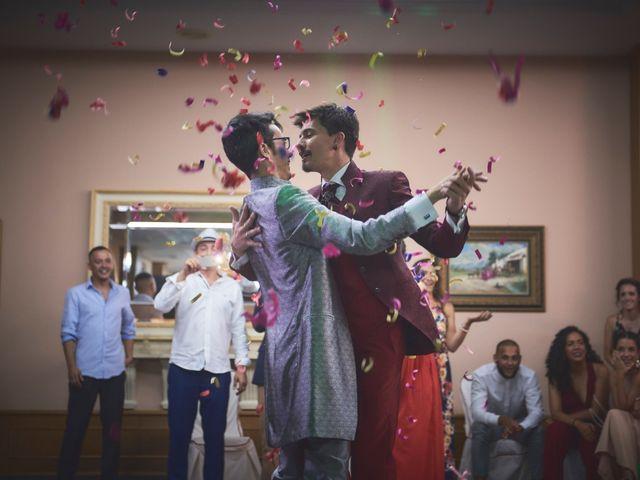 La boda de David y Manuel en Galapagar, Madrid 48