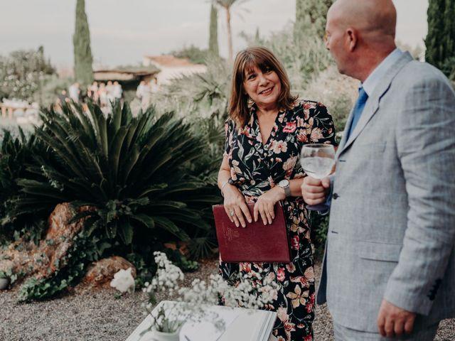 La boda de Adam y Rochelle en Alaro, Islas Baleares 72