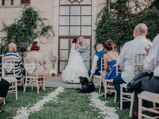 La boda de Adam y Rochelle en Alaro, Islas Baleares 99