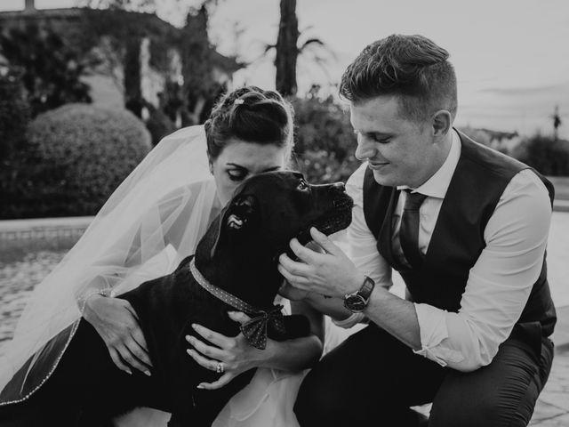 La boda de Adam y Rochelle en Alaro, Islas Baleares 123