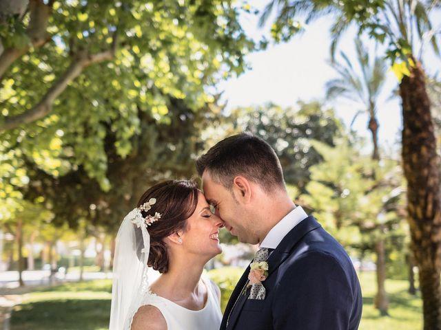 La boda de Ángel y Maria Dolores en El Raal, Murcia 1