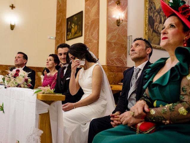 La boda de Tomas y Leticia en Bolaños De Calatrava, Ciudad Real 40
