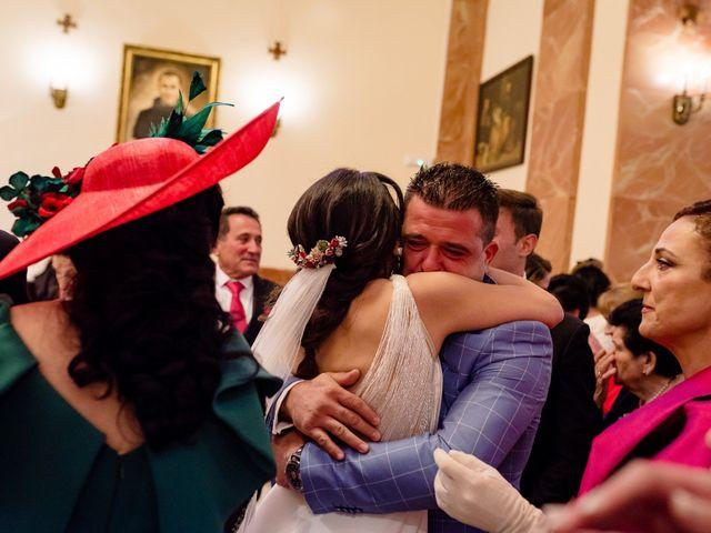La boda de Tomas y Leticia en Bolaños De Calatrava, Ciudad Real 42