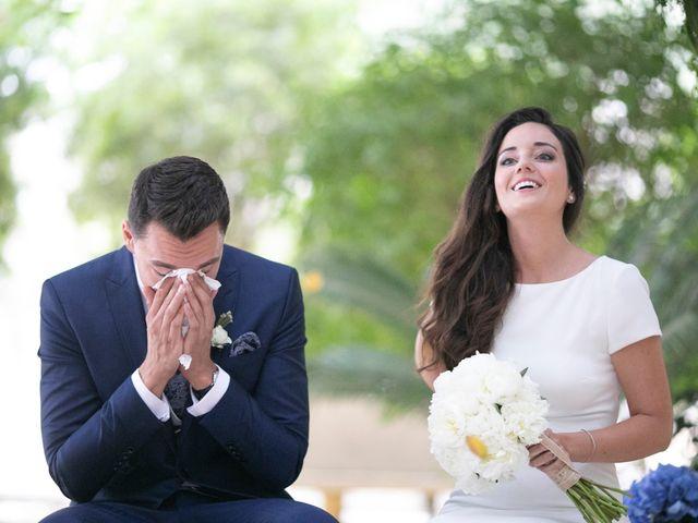 La boda de Cristian y Alba en Elx/elche, Alicante 11