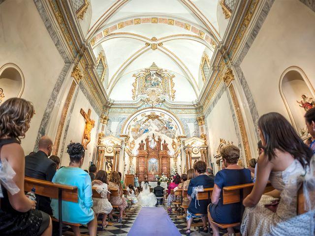 La boda de Héctor y Zoraida en L' Alcora, Castellón 11
