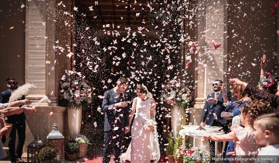 La boda de Ángel y Maria Dolores en El Raal, Murcia