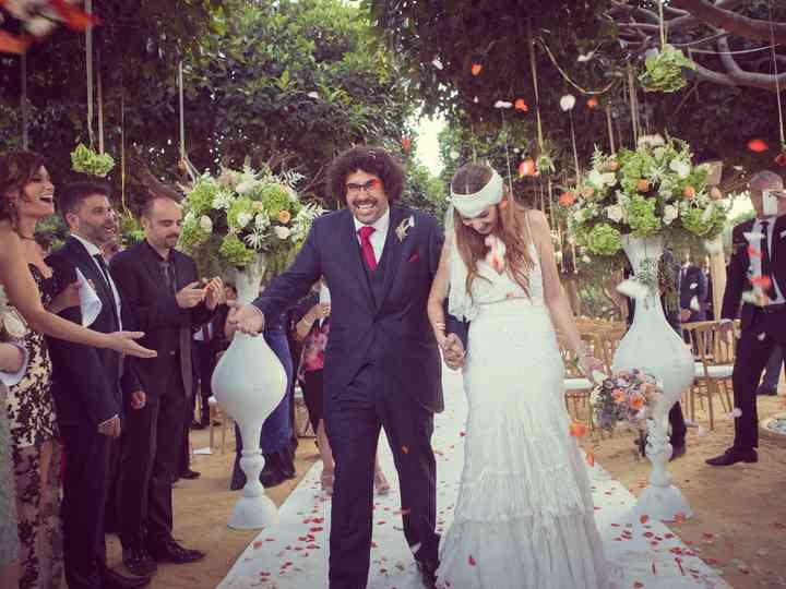 La boda de Davinia y Jolu