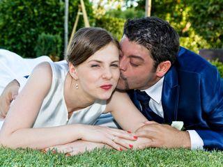 La boda de Justyna y David