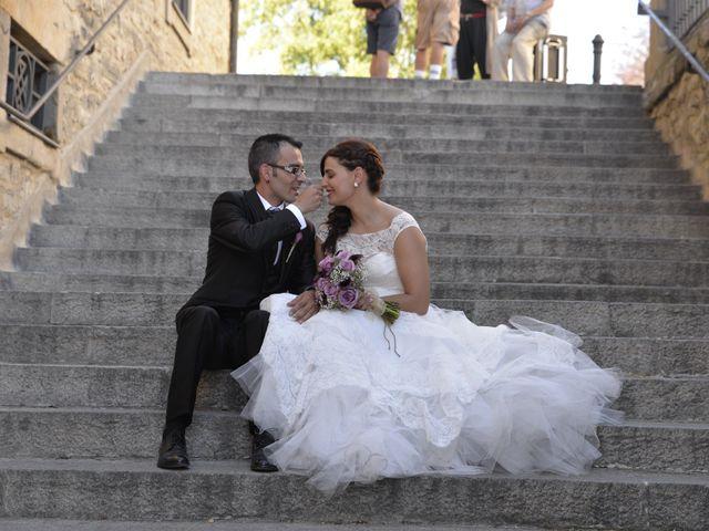 La boda de Iratxe y Luis