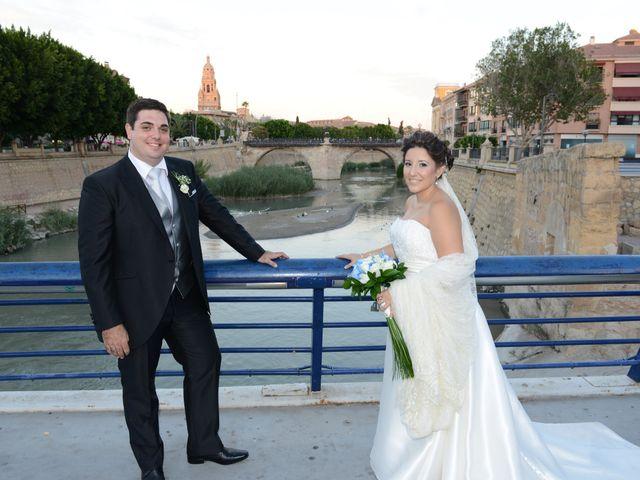 La boda de David  y Patricia en Murcia, Murcia 14