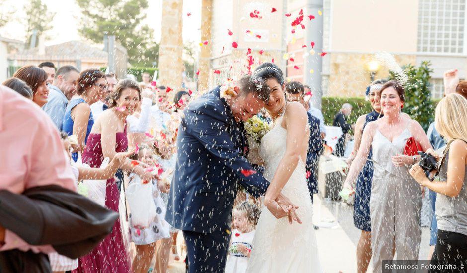 La boda de Sergio y Mayte en Alginet, Valencia