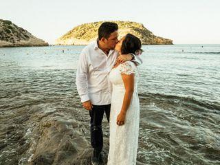 La boda de Paola y David