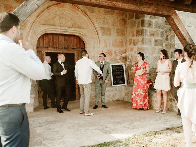 La boda de César y Clau en Villalibado, Burgos 11