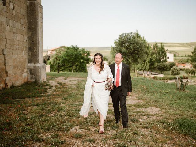 La boda de César y Clau en Villalibado, Burgos 14