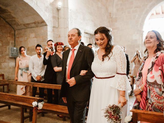La boda de César y Clau en Villalibado, Burgos 17