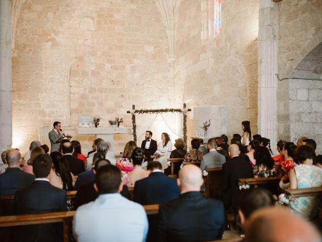 La boda de César y Clau en Villalibado, Burgos 19