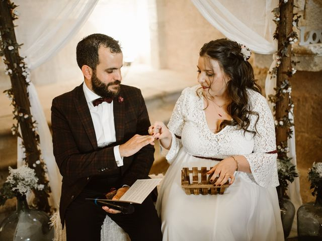 La boda de César y Clau en Villalibado, Burgos 21