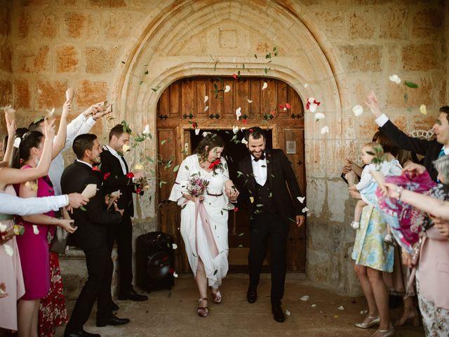 La boda de César y Clau en Villalibado, Burgos 22