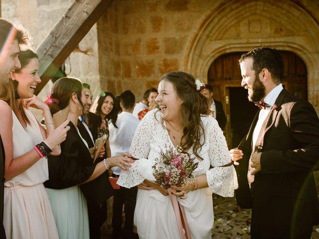 La boda de César y Clau en Villalibado, Burgos 23