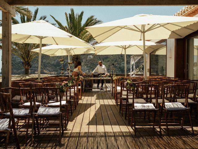 La boda de David y Paola en Xàbia/jávea, Alicante 76