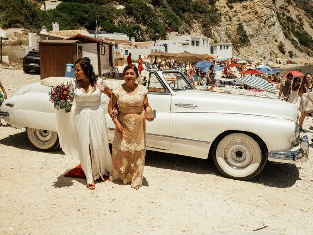 La boda de David y Paola en Xàbia/jávea, Alicante 90