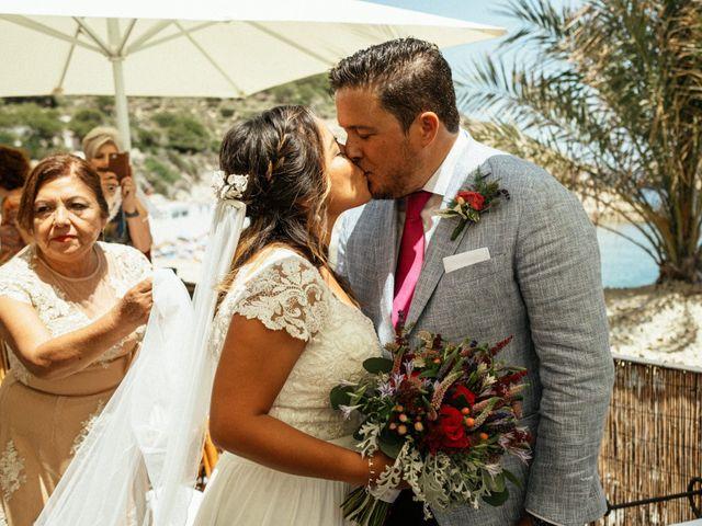 La boda de David y Paola en Xàbia/jávea, Alicante 93