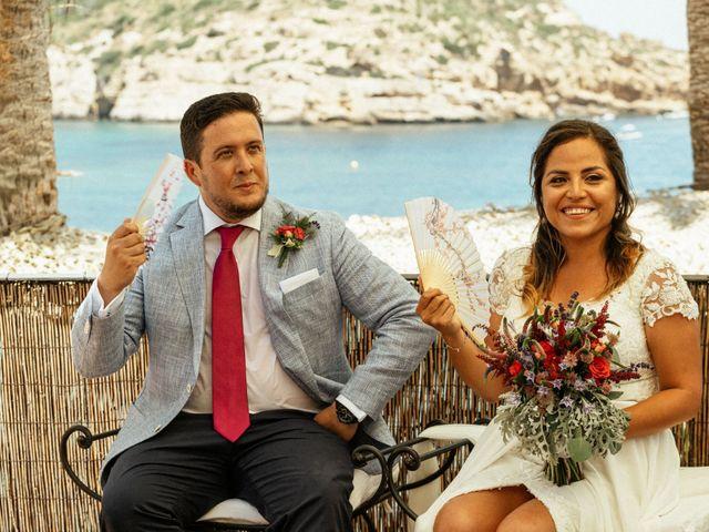 La boda de David y Paola en Xàbia/jávea, Alicante 97