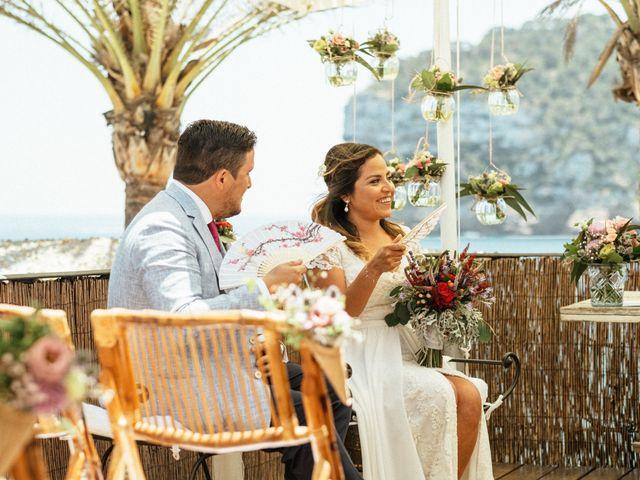 La boda de David y Paola en Xàbia/jávea, Alicante 98