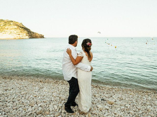 La boda de David y Paola en Xàbia/jávea, Alicante 149