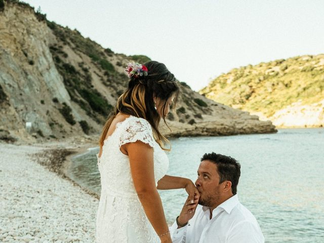 La boda de David y Paola en Xàbia/jávea, Alicante 150