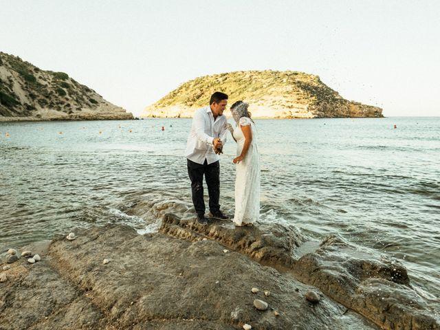 La boda de David y Paola en Xàbia/jávea, Alicante 156