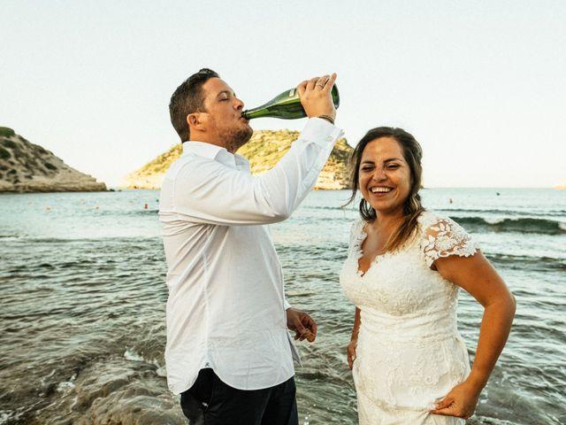 La boda de David y Paola en Xàbia/jávea, Alicante 158