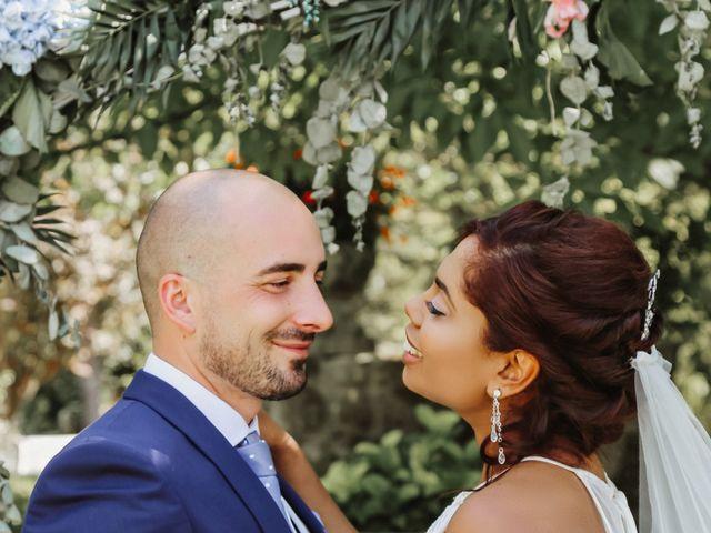 La boda de Carolin y Dani