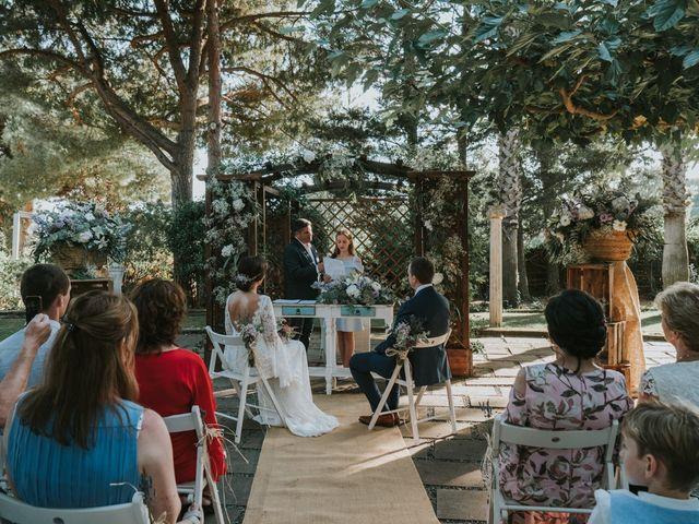 La boda de Alán y Laura en Sant Vicenç De Montalt, Barcelona 40