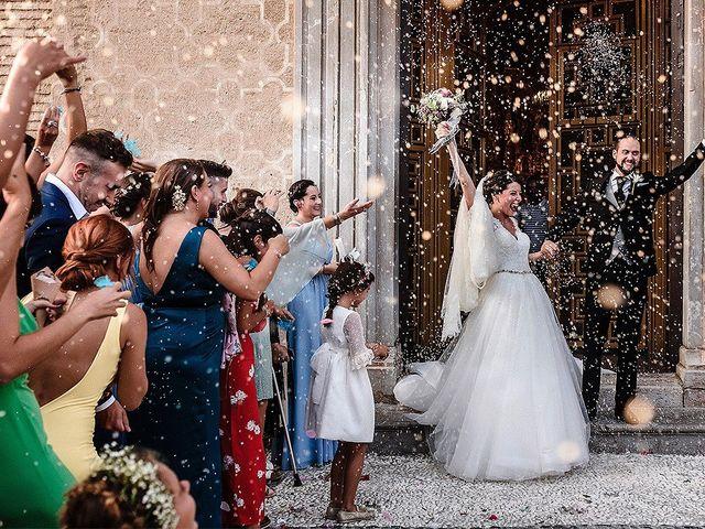 La boda de Sergio y Virginia en Granada, Granada 15