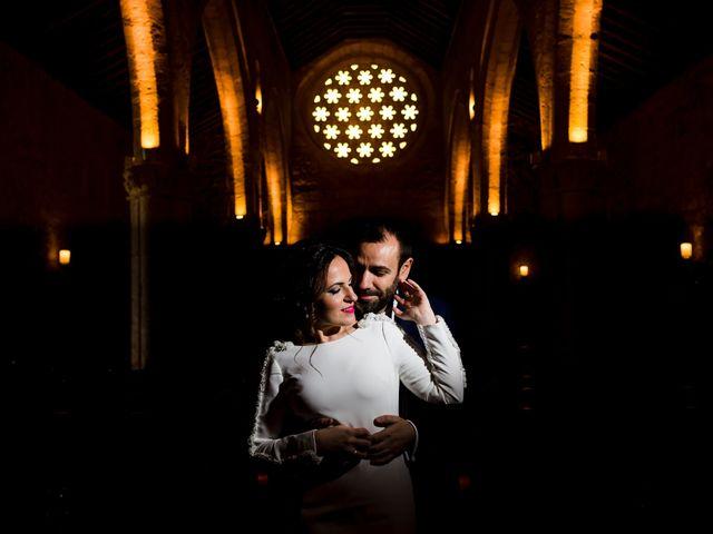 La boda de Elena y Julian en Carrion De Calatrava, Ciudad Real 43