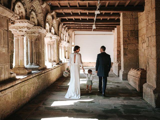 La boda de Oscar y Laura en Santiago De Compostela, A Coruña 1