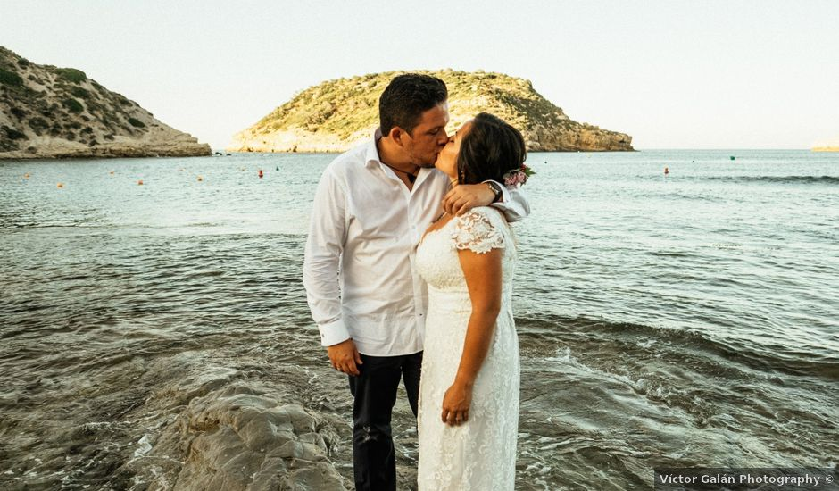 La boda de David y Paola en Xàbia/jávea, Alicante