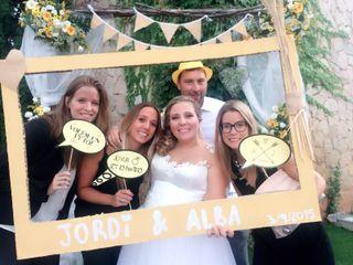 La boda de Alba Fernandez Llort y Jordi Sagristà Isern 3