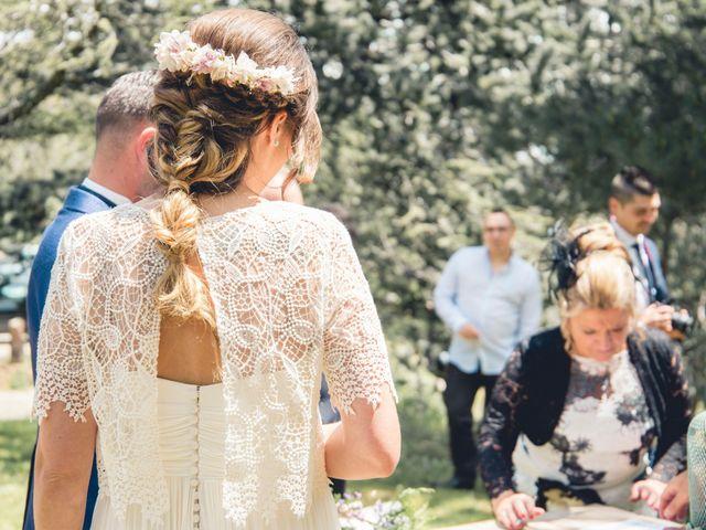 La boda de Carlos y Adriana en Rascafria, Madrid 19