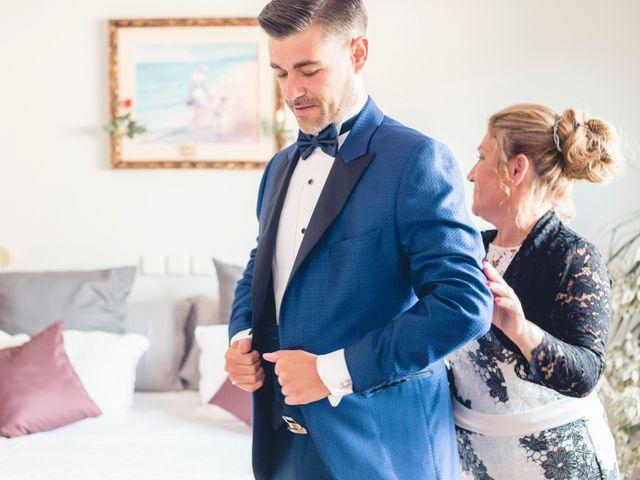 La boda de Carlos y Adriana en Rascafria, Madrid 1